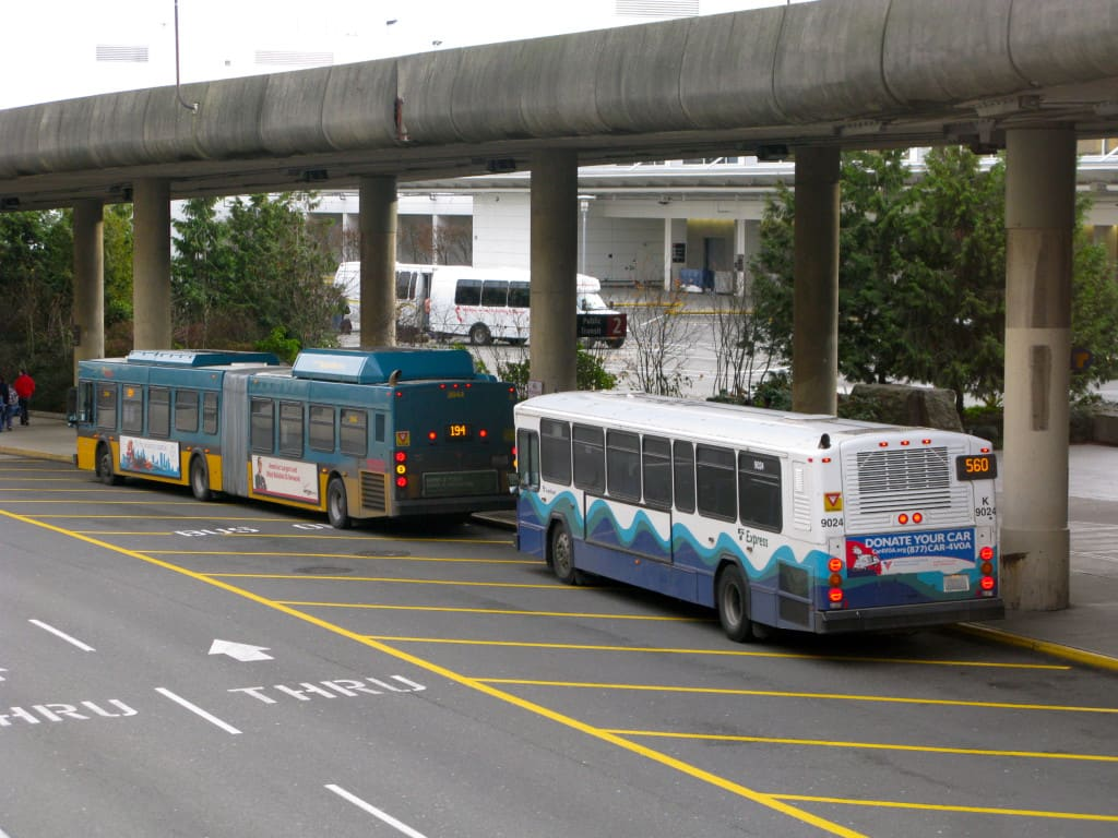 Estação de ônibus aeroporto Seattle - ST Express Bus (Sound Transit)