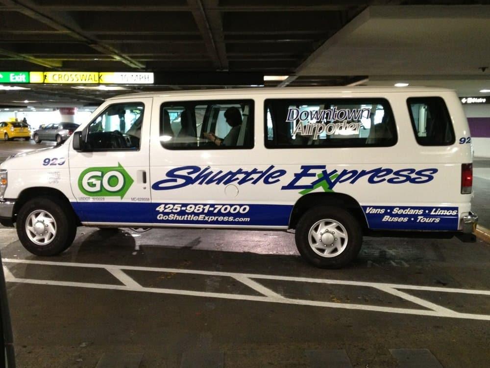 Shuttle aeroporto Seattle - Shuttle Express