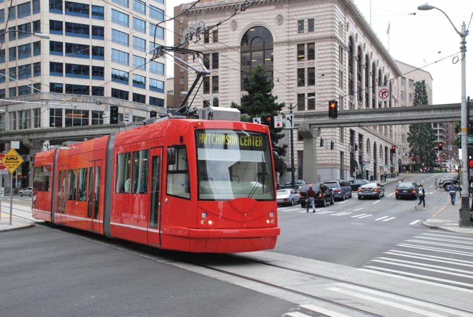 Bonde em Seattle - Seattle Streetcar