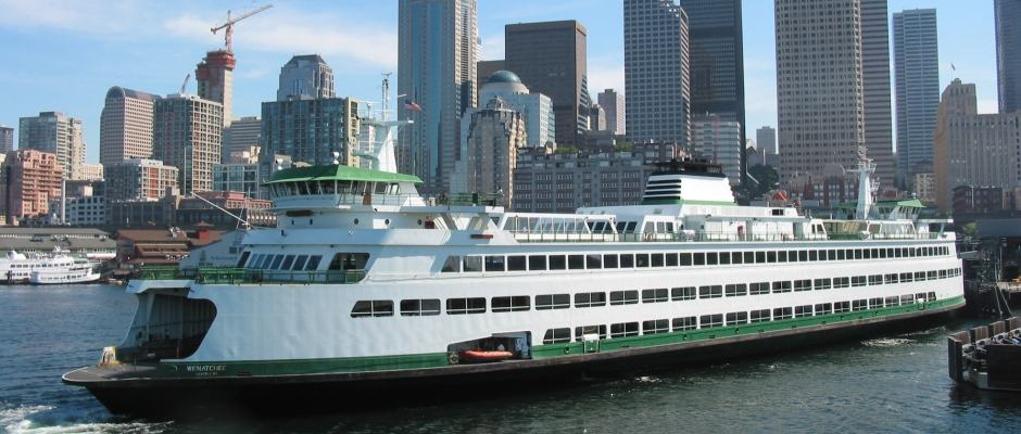 Ferry em Seattle - Passeio de Balsa em Seattle