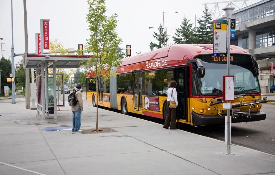 Ônibus Seattle - Linha RapidRide