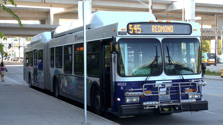 Ônibus Seattle - ST Express Bus da Sound Transit