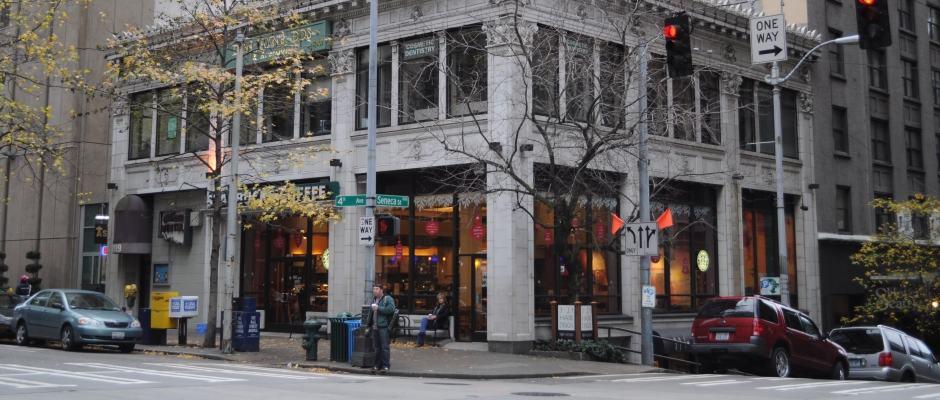 Direção das avenues e streets das ruas de Seattle