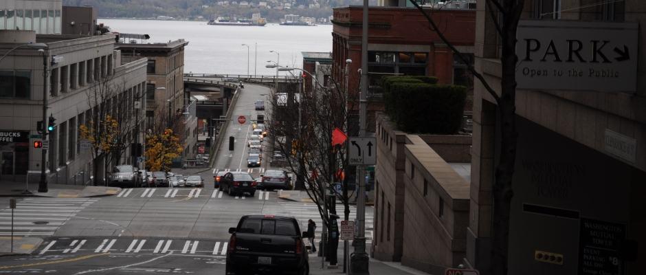 Ruas de Seattle