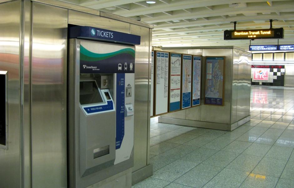 Máquina de venda do ORCA Card - TVM