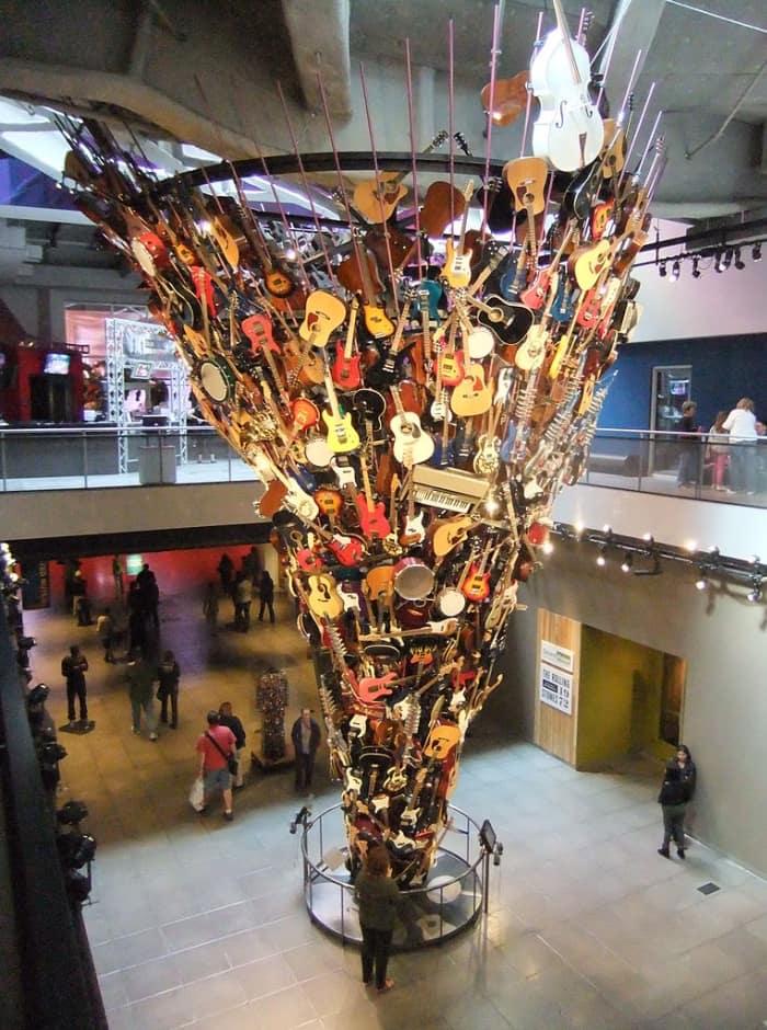 Escultura do som - EMP Museum
