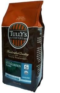 Café Tullys embalado pra viagem!