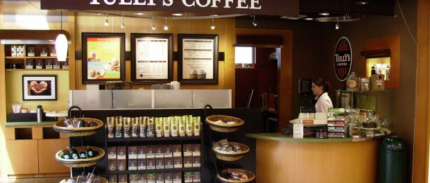 Loja Tullys Coffee Seattle