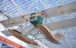 Aviões da Boeing - Hidroavião B&W no Museu do Voo