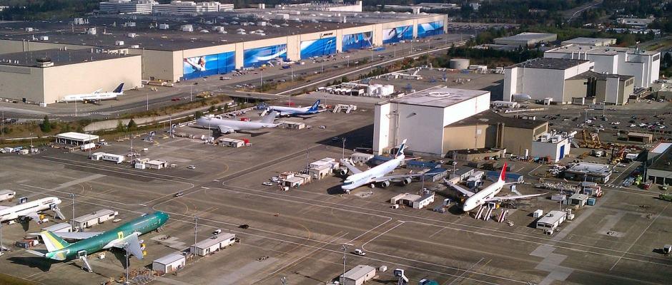Fábrica da Boeing em Seattle - Boeing Everett Factory