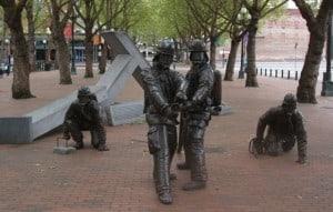 Memorial dos Bombeiros - Seattle