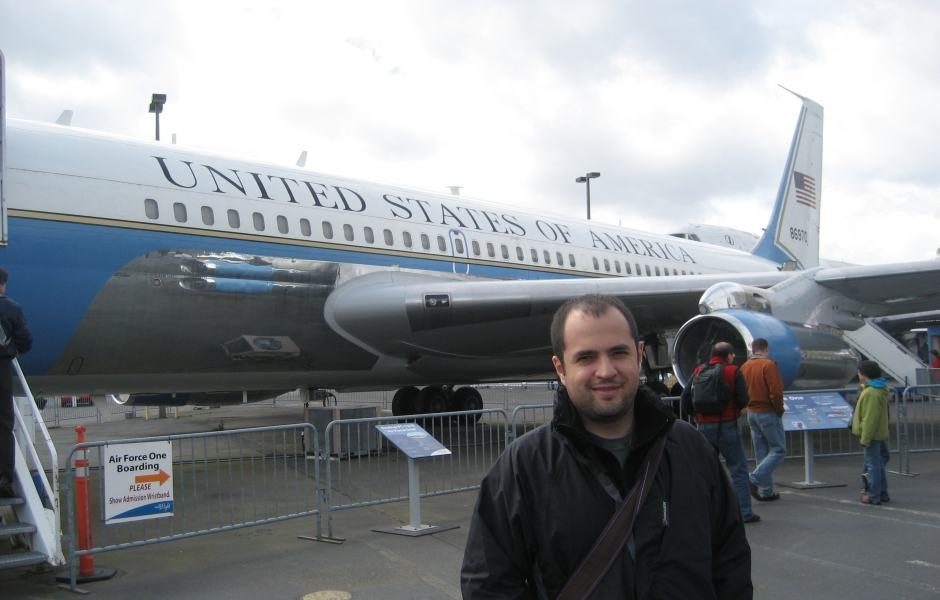 Museu do Voo em Seattle - Air Force One
