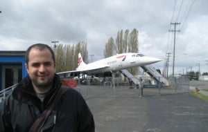 Museu do Voo em Seattle - Concorde