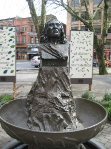 Busto do Chief Seattle no Pioneer Square