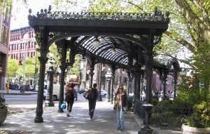 Pérgola do Pioneer Square