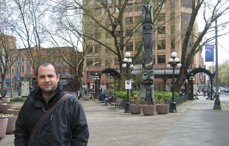 Totem no Pioneer Square