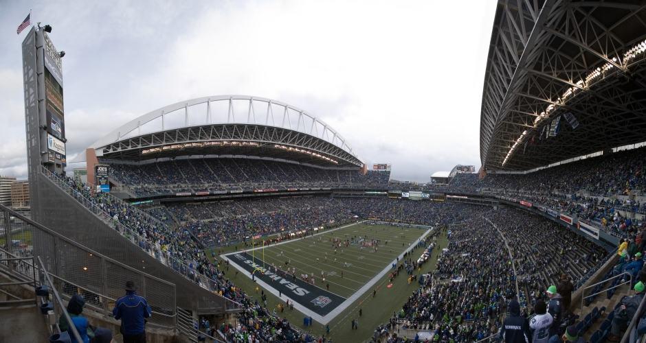 Jogo do Seattle Seahawks no CenturyLink Field