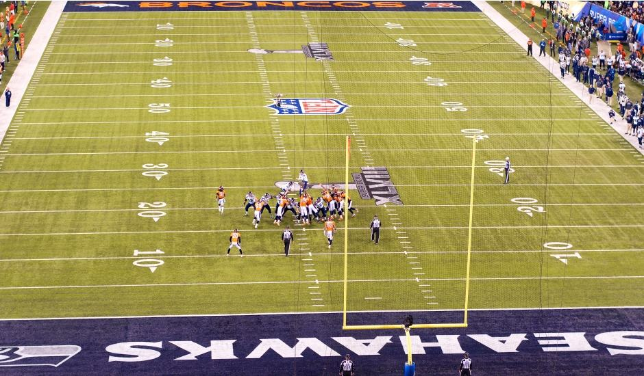 Jogo do Super Bow XLVIII - Seattle Seahawks X Denver Broncos