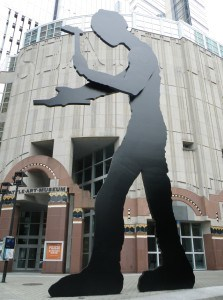 Museu de Arte de Seattle: Hammering Man