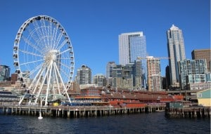 Seattle Great Wheel - Píer 57