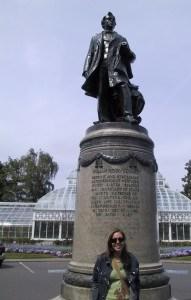 Volunteer Park em Seattle: estátua de William Henry Seward