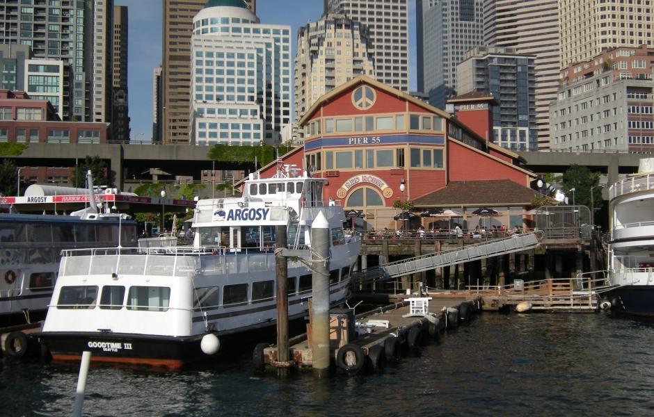 Cruzeiros da Argosy Cruises: Píer 55