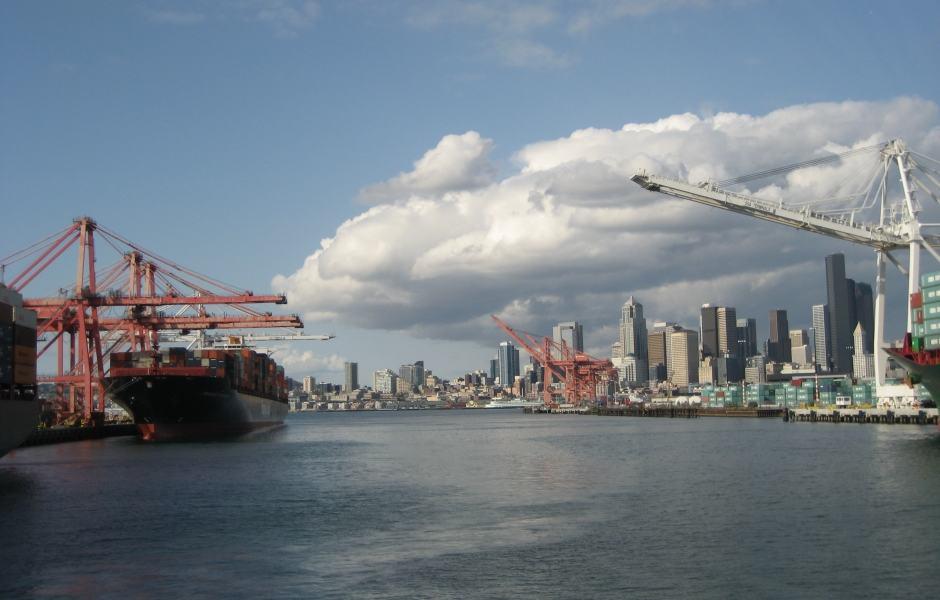 Cruzeiros da Argosy Cruises: Porto de Seattle