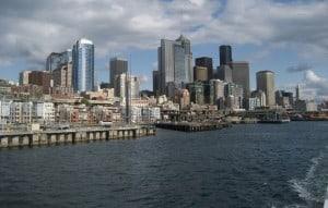 Cruzeiros da Argosy Cruises: vista de Seattle