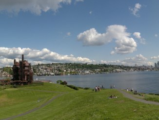 Gas Works Park em Seattle