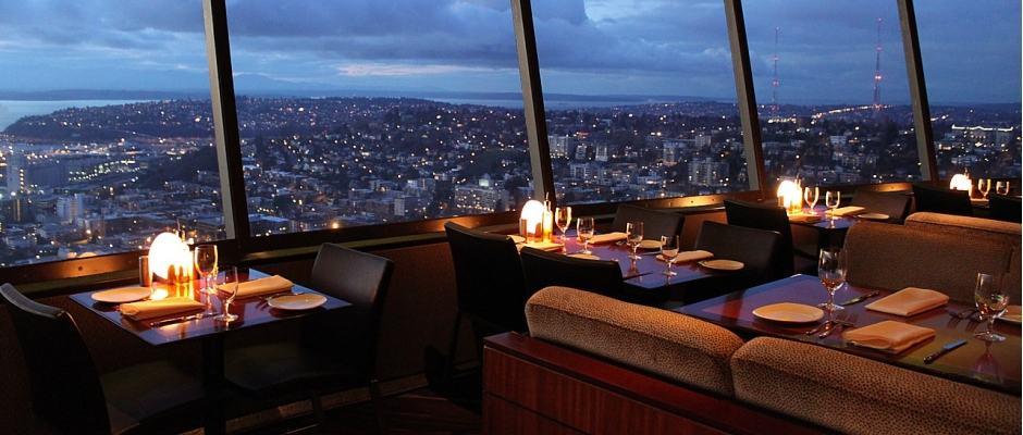 Restaurante SkyCity em Seattle