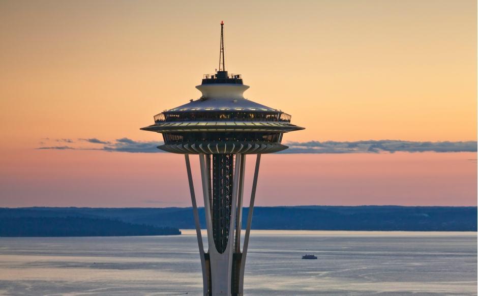 Restaurante SkyCity Seattle no Space Needle