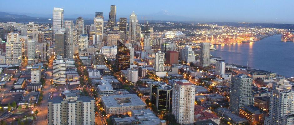 Vista do SkyCity Seattle