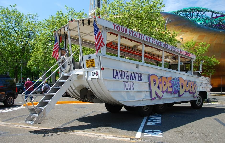 Tour do Ride the ducks of Seattle