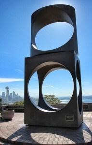 Escultura de aço do Kerry Park
