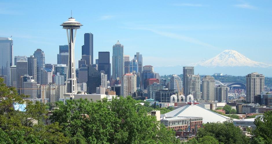 Kerry Park: vista famosa e tradicional de Seattle