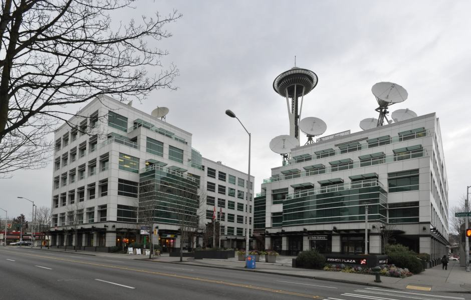 Tour Grey's Anatomy em Seattle: Fisher Plaza e o Space Needle