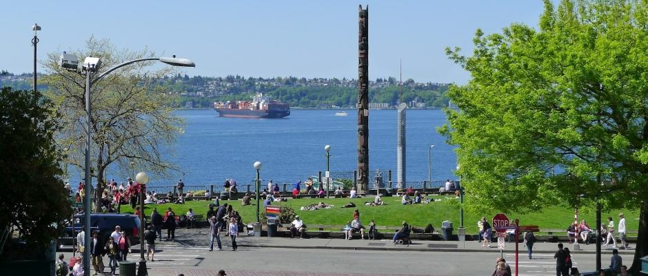 Victor Steinbrueck Park em Seattle