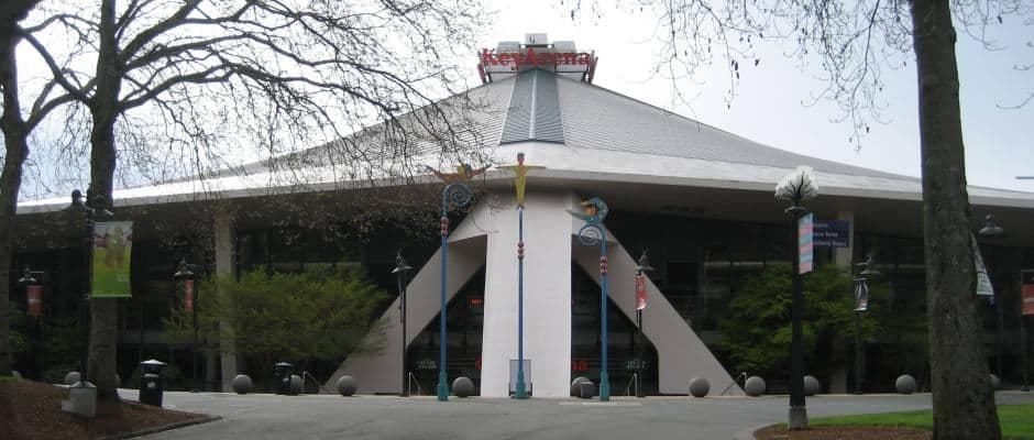 KeyArena no Seattle Center