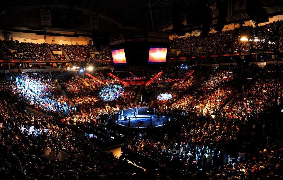 Evento do UFC no KeyArena