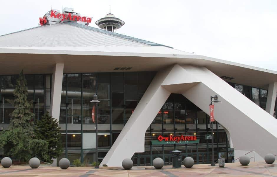 KeyArena: a arena multiuso do Seattle Center