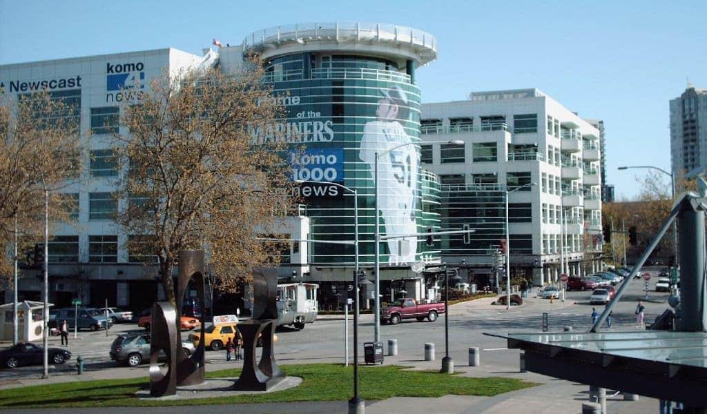 Seattle Grace Hospital: edifício Fisher Plaza, KOMO-TV, em Seattle