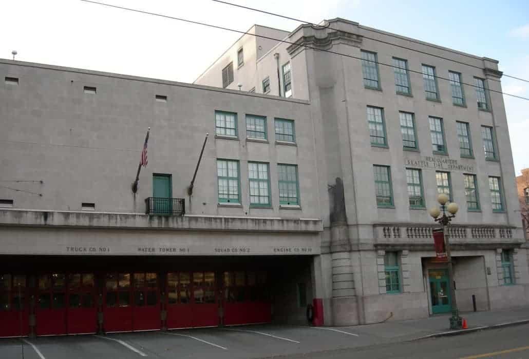 Sede do departamento de incêndio de Seattle