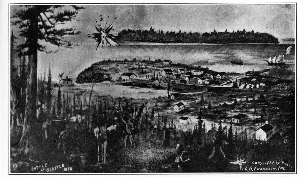 Battle of Seattle - 1856