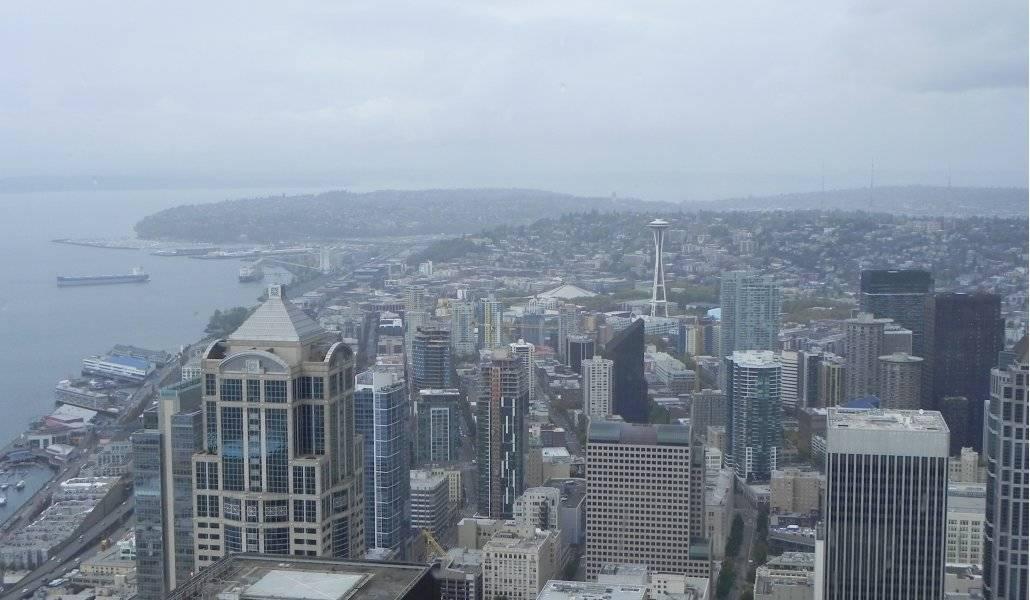 Tempo em Seattle, a cidade cinza!