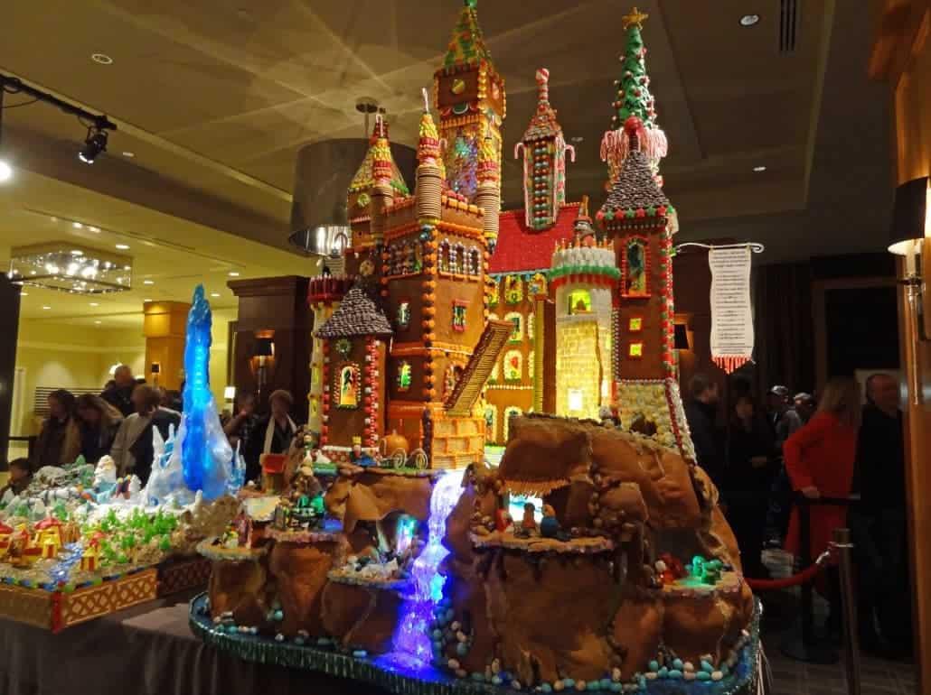 Gingerbread Village do Sheraton Seattle Hotel – 20º edição (Natal 2012)