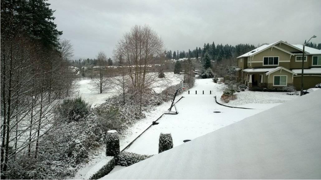 Natal em Seattle em 2013: White Christmas