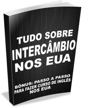 """Capa E-book Grátis """"Intercâmbio EUA: tudo sobre intercâmbio nos EUA"""""""