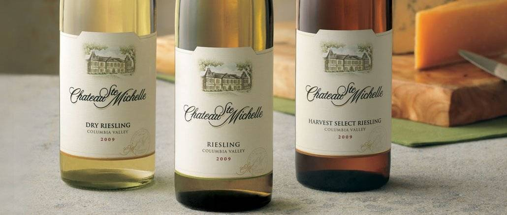 Vinho Riesling (fonte: Chateau Ste. Michelle)
