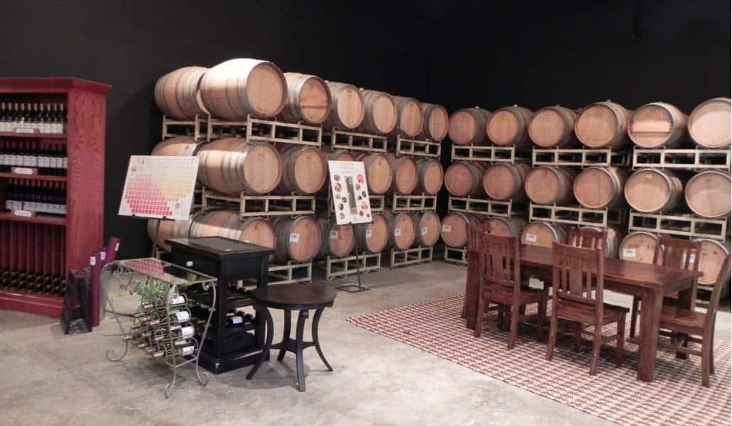 Woodinville Wine Country: sala de degustação de vinho do Chateau Ste. Michelle