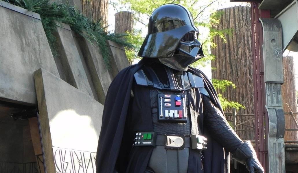 Darth Vader no treinamento Jedi do Hollywood Studios